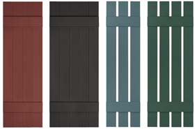 Exterior Vinyl Shutters Exterior Vinyl Shutters  Made In The Usa
