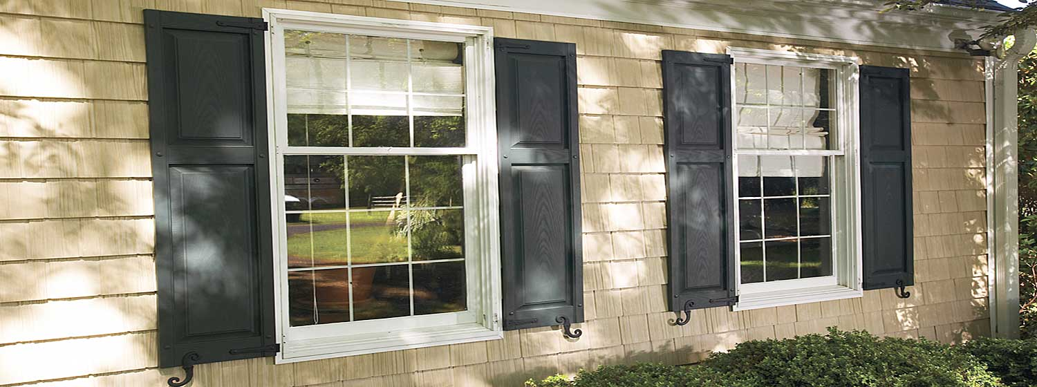 Exterior Vinyl Shutters - Made in the USA